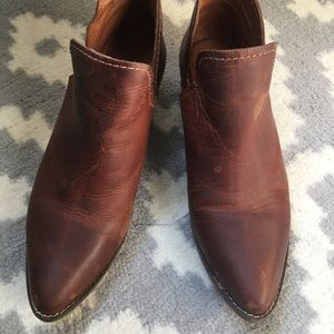 Steve Madden Shoes - Leather brown Steve Madden Booties